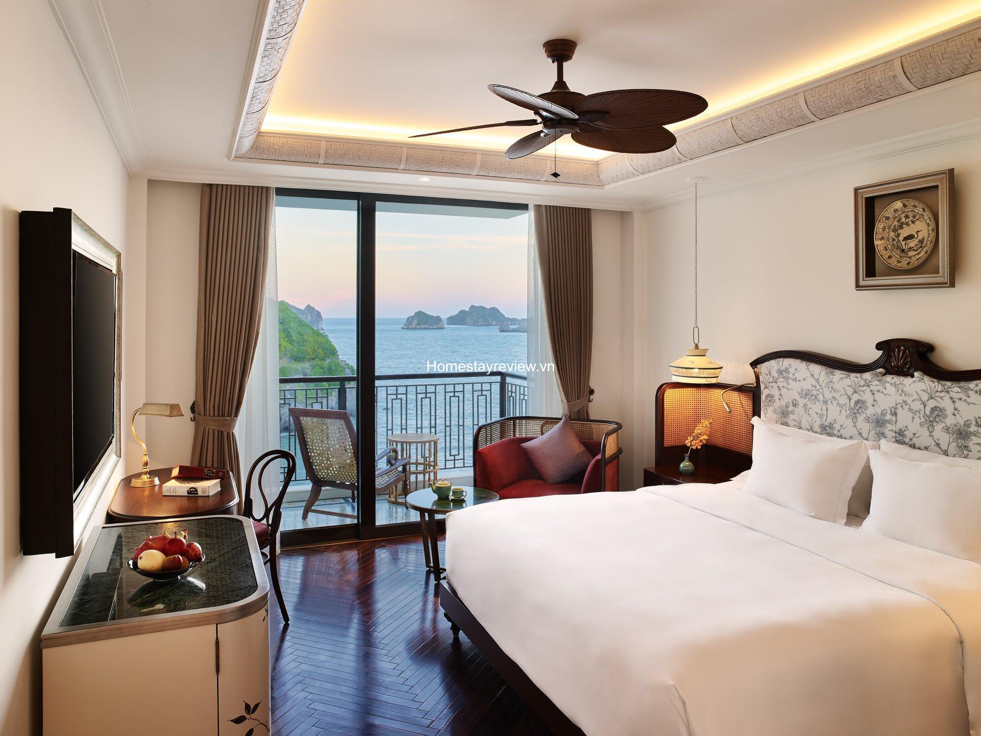 Top 20 Resort khách sạn villa nhà nghỉ homestay Cát Bà rẻ đẹp view biển
