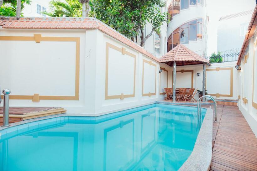 Top 10 Biệt thự villa Vũng Tàu giá rẻ gần biển có hồ bơi cho thuê nguyên căn