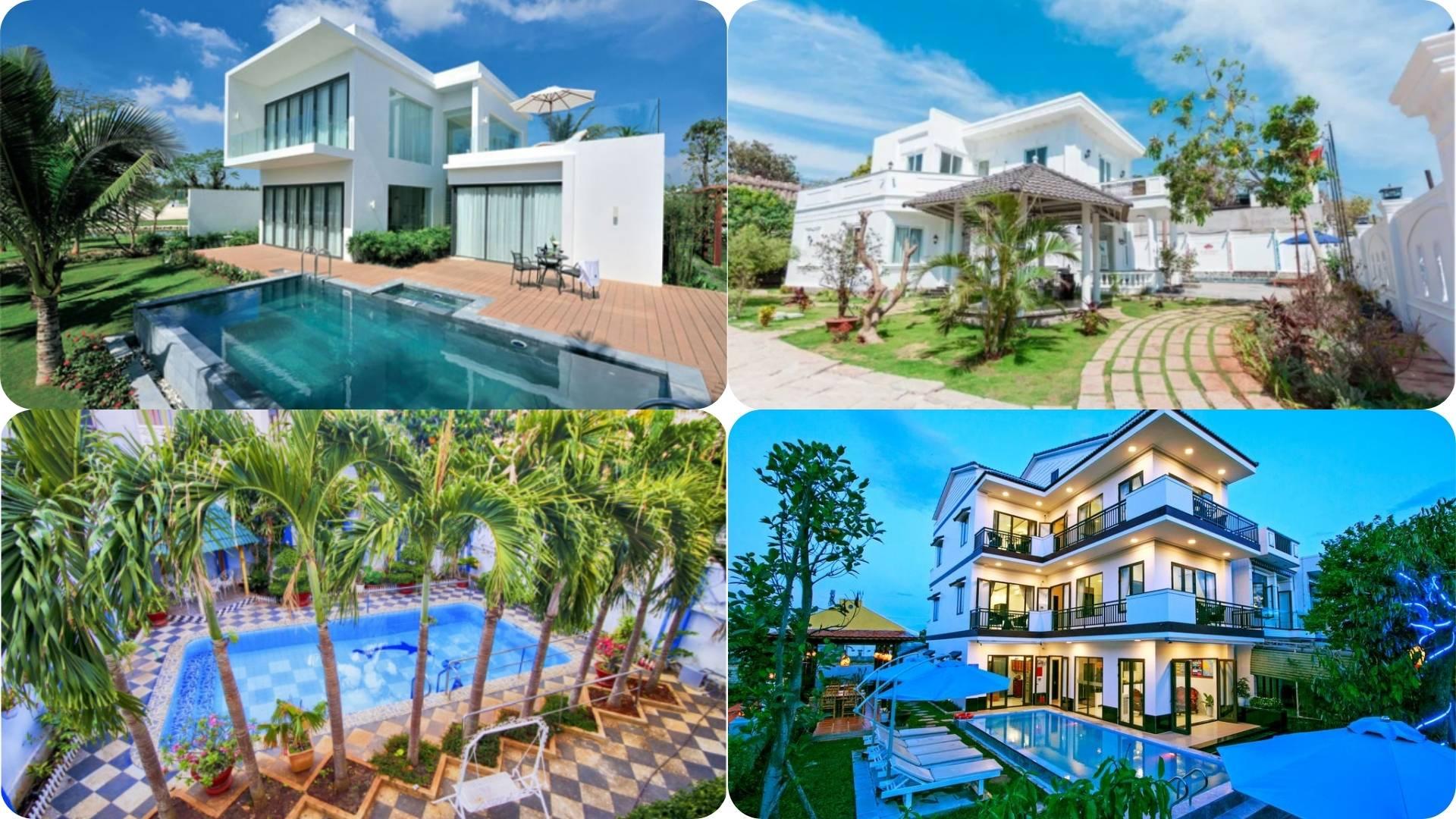 Top 41 Biệt thự villa Vũng Tàu giá rẻ gần biển có hồ bơi cho thuê nguyên căn