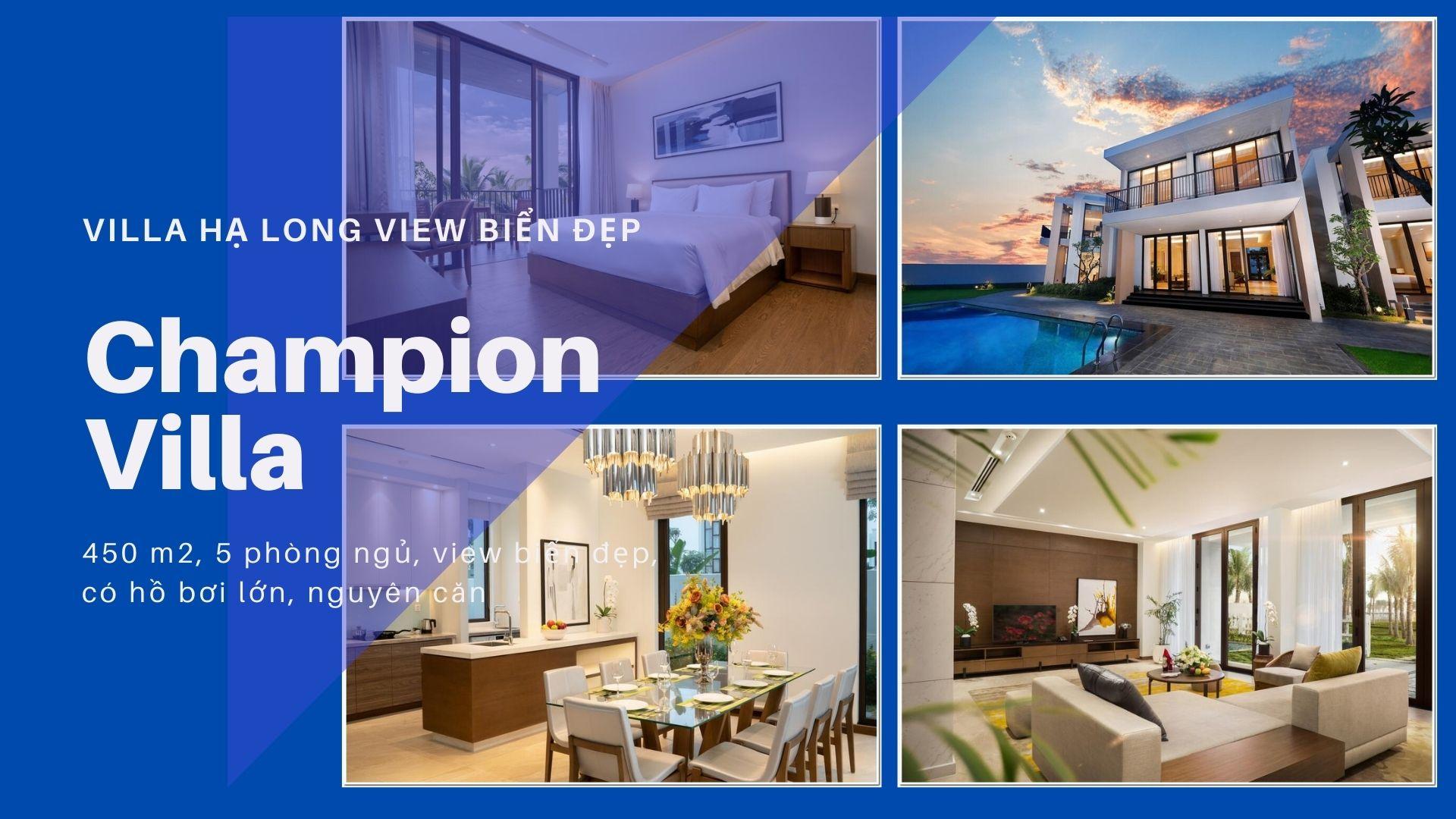 Top 10 Biệt thự FLC villa Hạ Long giá rẻ đẹp view biển có hồ bơi cho thuê