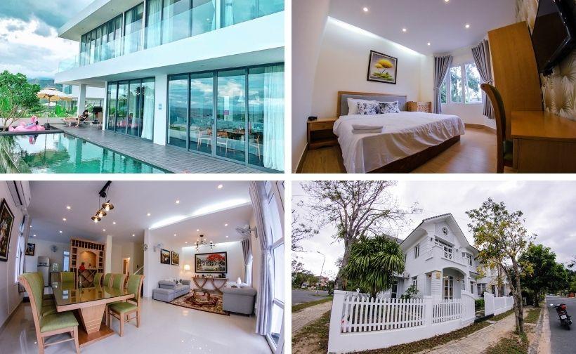Top 20 Biệt thự villa Nha Trang view biển Bãi Dài đẹp giá rẻ nguyên căn