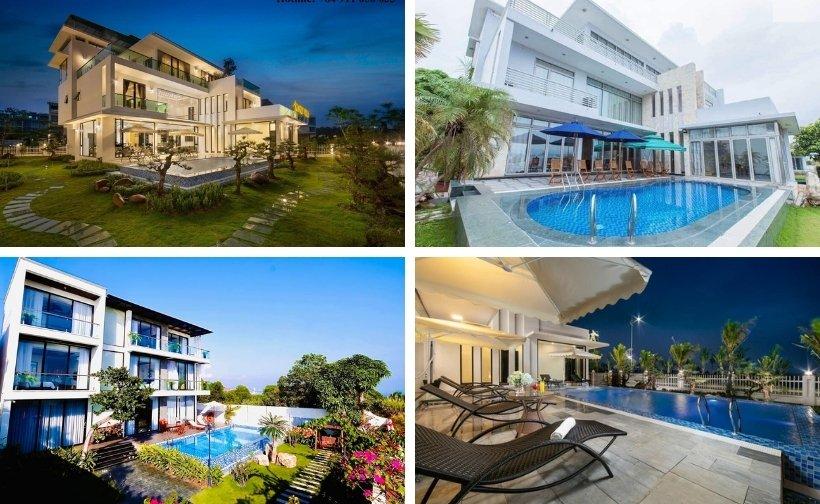 Top 9 Biệt thự villa Tuần Châu giá rẻ đẹp view biển có hồ bơi 4-5 sao