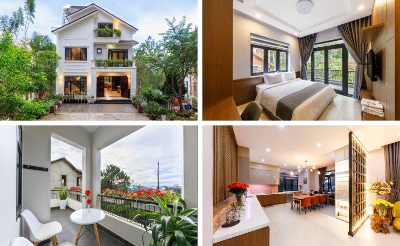 Top 30 Biệt thự villa Đà Lạt giá rẻ đẹp ở trung tâm chợ đêm cho thuê