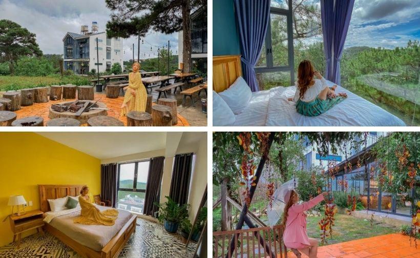 Top 50 Homestay Đà Lạt giá rẻ view đẹp gần trung tâm chợ đêm giá 500k