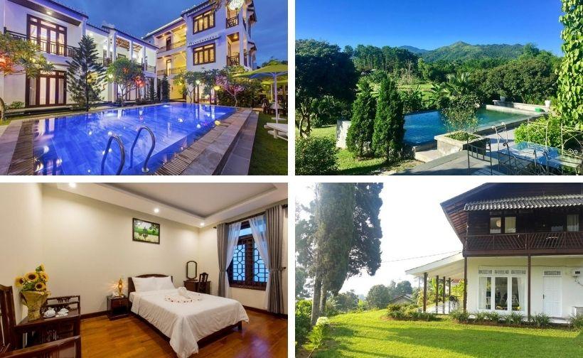 Top 20 Resort biệt thự villa gần Hà Nội giá rẻ đẹp có hồ bơi quanh ngoại thành