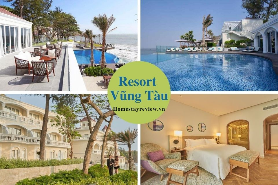 Top 29 Resort Vũng Tàu view đẹp giá rẻ gần biển có bãi tắm riêng 3-4-5 sao